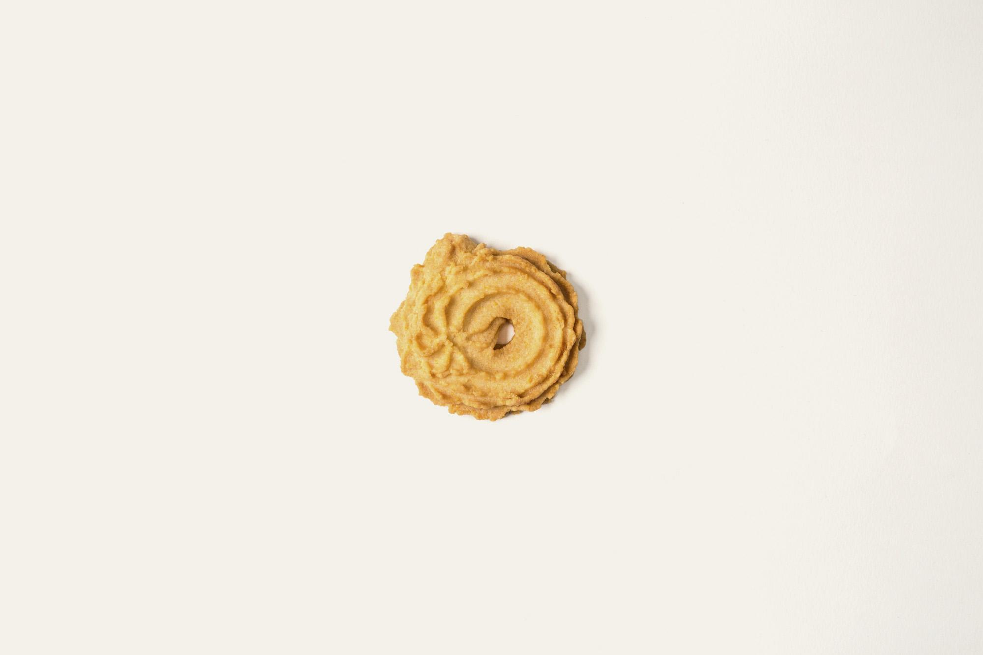 Biscotti di Meliga, come da tradizione di Torino.