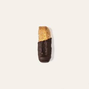 Biscotti al cioccolato fondente 60%, adatti al tè e al caffè.