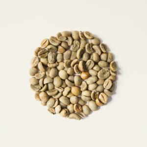 Caffè crudo da tostare.