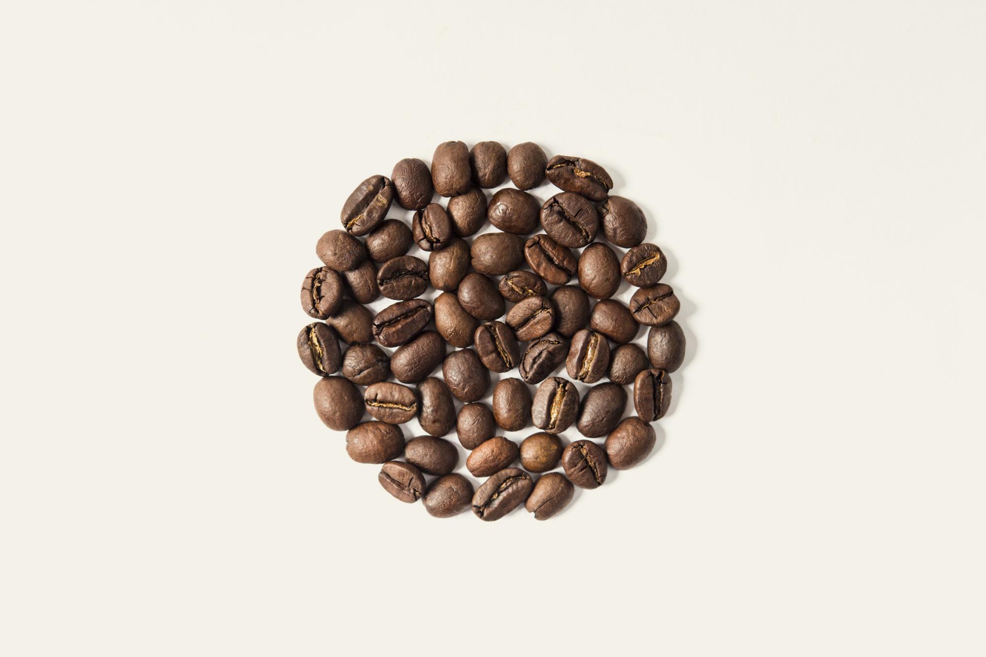 Grani di caffè dall'aroma inconfondibile